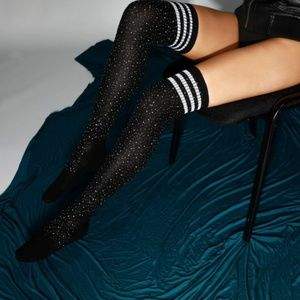Miss Babydoll Accessories - ❤️NEW Sexy Bling Over the Knee Stockings #D12